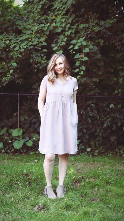 Hinterland Dress -ompelukaava - Sew Liberated