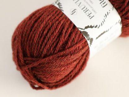 Filcolana Peruvian Highland Wool - Burnt Sienna melange 832