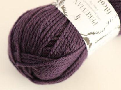 Filcolana Peruvian Highland Wool - Grape Royal 235