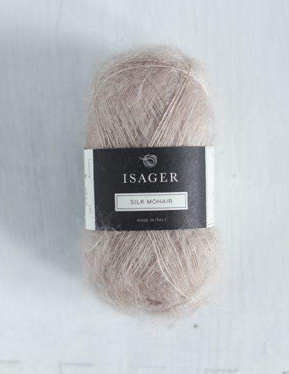Isager Silk Mohair - Puuteri 06