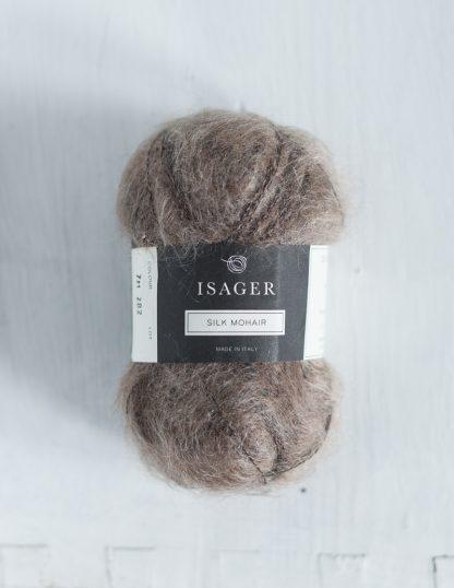 Isager Silk Mohair - Ruskea 7S