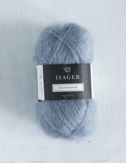 Isager Silk Mohair - Vaaleansininen 41
