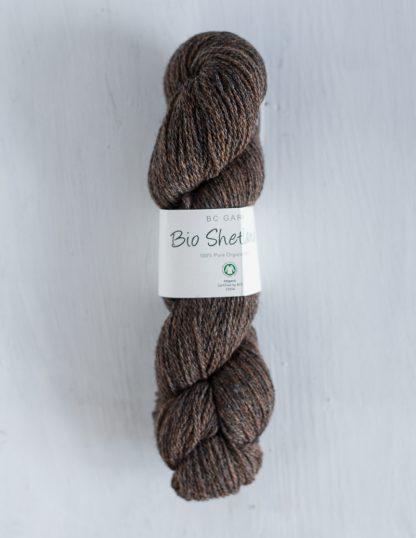 BC Garn - Bio Shetland - Brown Marled
