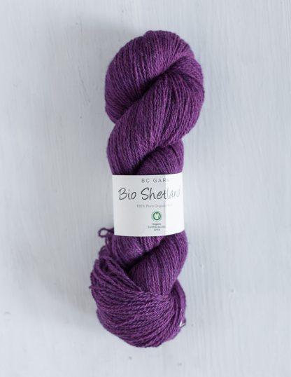 BC Garn - Bio Shetland - Dark Purple