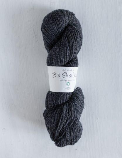 BC Garn - Bio Shetland - Greyish Black