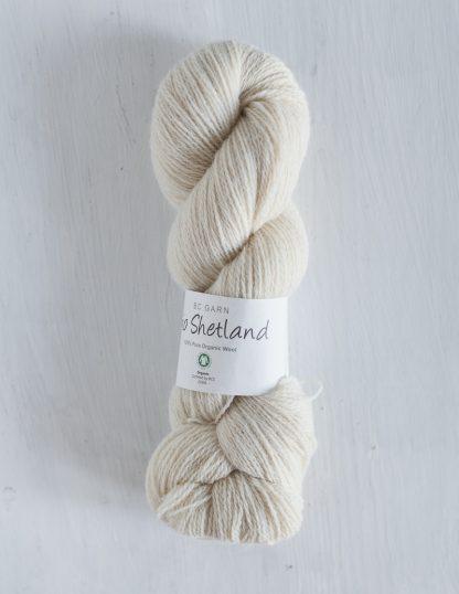 BC Garn - Bio Shetland - Narural White