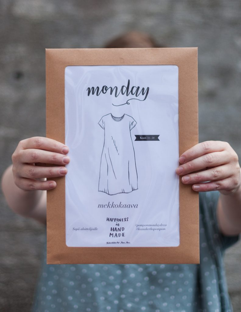 Pom Pom Monday Dress -ompelukaava
