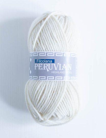 Filcolana Peruvian Highland Wool - Natural White 101