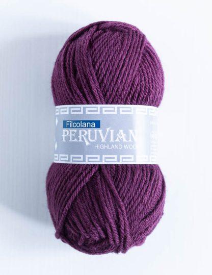 Filcolana Peruvian Highland Wool - Plum 222