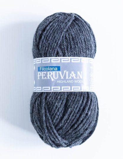 Filcolana Peruvian Highland Wool - Charcoal melange 956