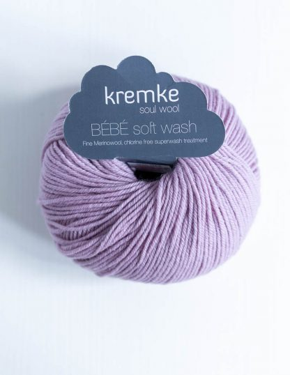 Kremke Soul Wool - Bebe Soft Wash - Vanha roosa