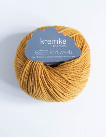 Kremke Soul Wool - Bebe Soft Wash - Kullankeltainen