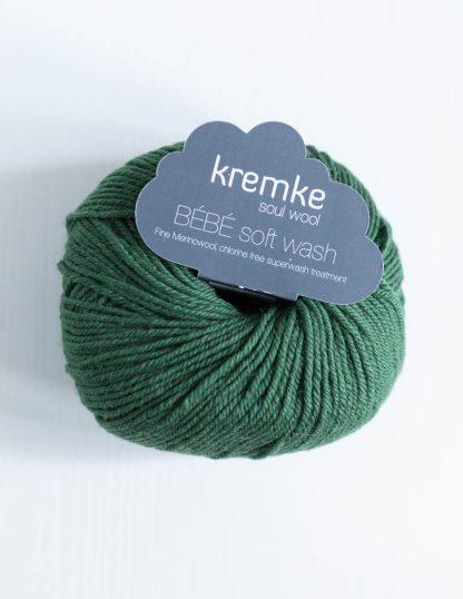 Kremke Soul Wool - Bebe Soft Wash - Metsänvihreä