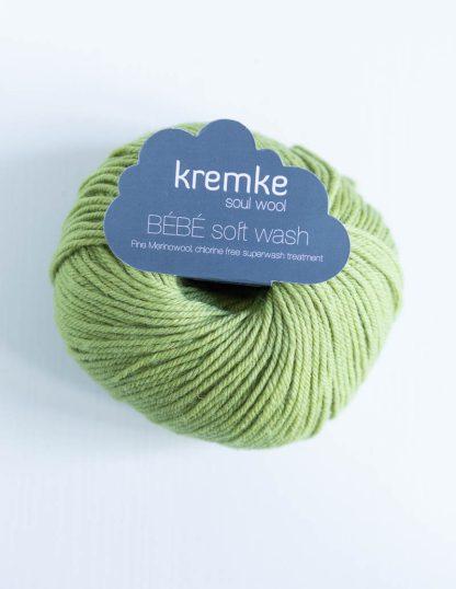 Kremke Soul Wool - Bebe Soft Wash - Omenanvihreä