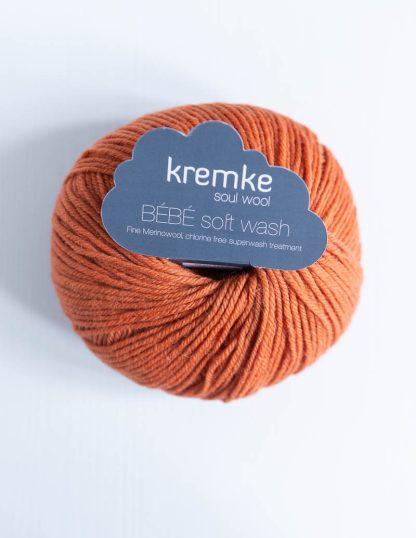 Kremke Soul Wool - Bebe Soft Wash - Poltettu oranssi