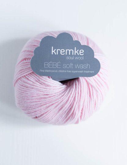 Kremke Soul Wool - Bebe Soft Wash - Vaaleanpunainen
