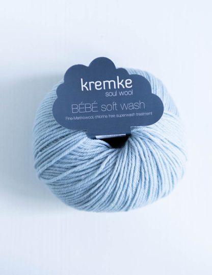 Kremke Soul Wool - Bebe Soft Wash - Vaaleansininen