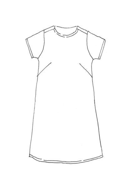 Merchant & Mills - Camber Set -ompelukaava - Mekon rakennekuva