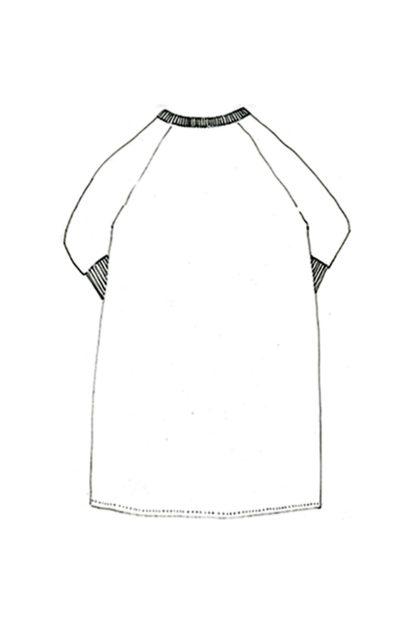 Merchant & Mills - Fielder-ompelukaava - Mekon rakennekuva