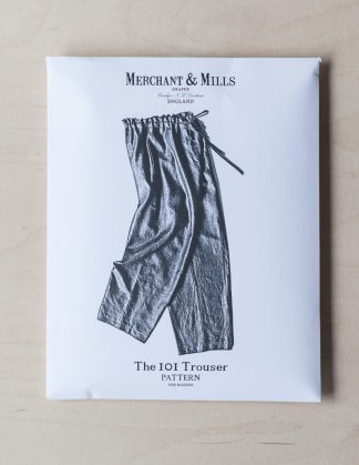 The 101 Trousers -ompelukaava - Merchant & Mills