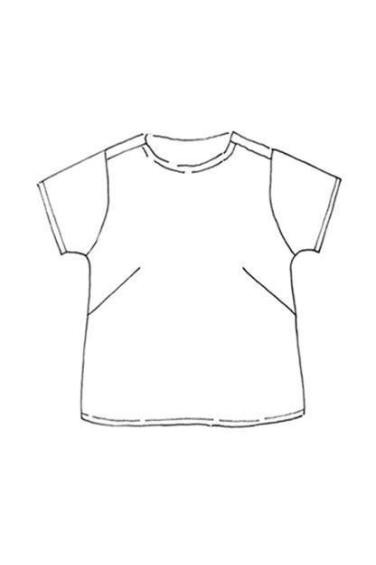 Merchant & Mills - Camber Set -ompelukaava - Paidan rakennekuva