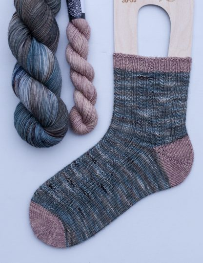 Pom Pom BFL Sock -sukkasetti - Virta + Haave