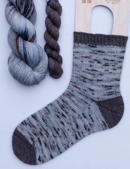 Pom Pom BFL Sock -sukkasetti - Utu + Viikuna