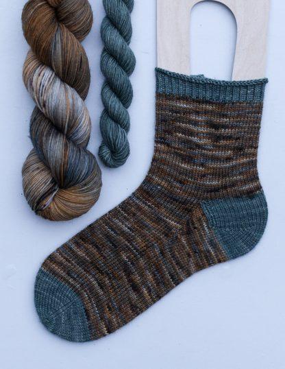 Pom Pom BFL Sock -sukkasetti - Piennar + Naava