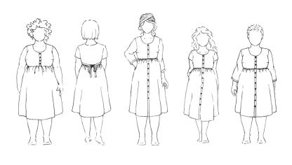 Hinterland Dress - Mallivaihtoehdot