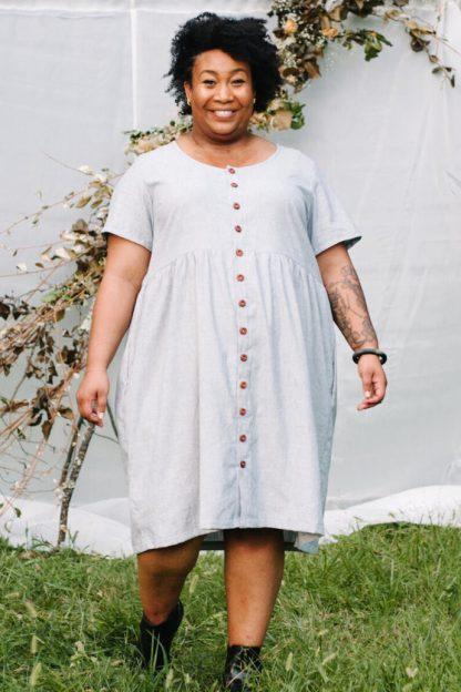 Hinterland Dress -ompelukaava
