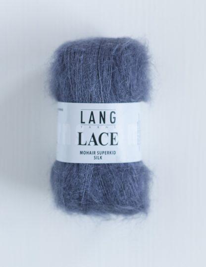 Lang Yarns Lace - Siniharmaa 34