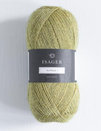 Isager Alpaca 1 - Keltavihreä 40