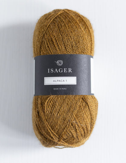 Isager Alpaca 1 - Sinappi 3