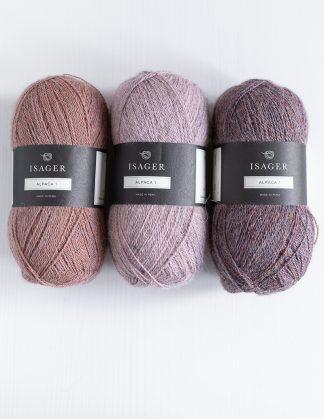 Isager Alpaca 1 - Vaaleanpunainen 61