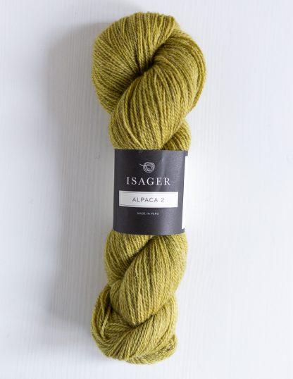 Isager Alpaca 2 - Keltavihreä 40