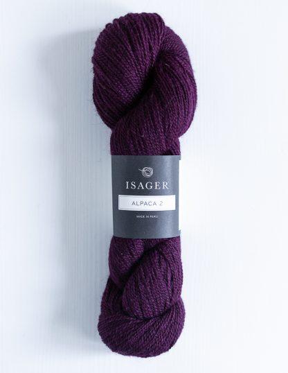 Isager Alpaca 2 - Viininpunainen 36