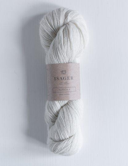 Isager Alpaca 2 - Valkoinen E0