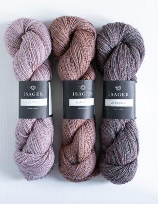 Isager - Alpaca 2 - Vaaleanpunainen - Peach - Sky