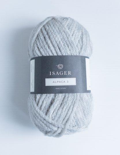 Isager Alpaca 3 - Vaaleanharmaa 2S