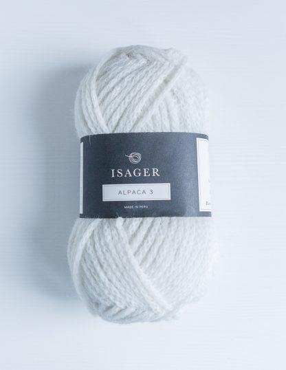 Isager Alpaca 3 - Valkoinen 0