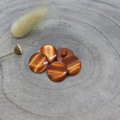 Atelier Brunette - Swing Buttons -napit - Chestnut