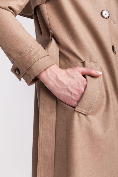 Isla trench coat -ompelukaava