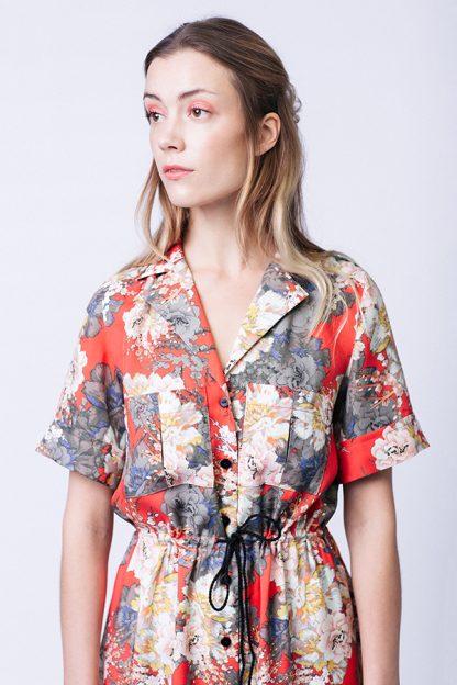 Reeta shirt dress -ompelukaava