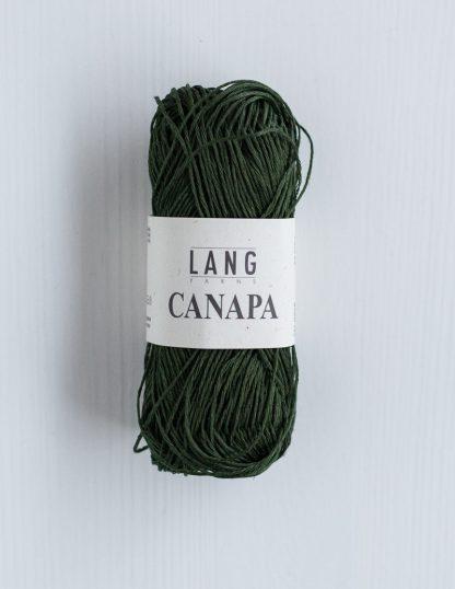 Lang Yarns Canapa - Metsänvihreä 18
