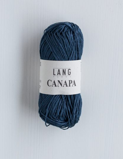 Lang Yarns Canapa - Myrskynsininen 34