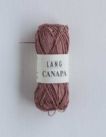 Lang Yarns Canapa - Puuteriroosa 48