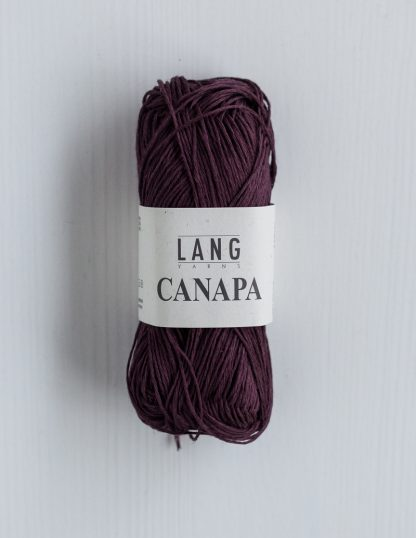 Lang Yarns Canapa - Bordeaux 64
