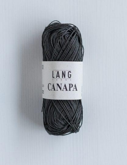 Lang Yarns Canapa - Kallionharmaa 70