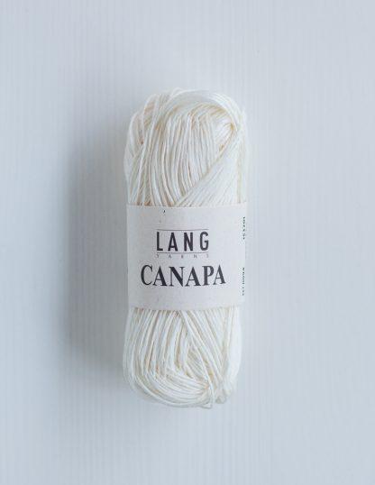 Lang Yarns Canapa - Luonnonvalkoinen 94