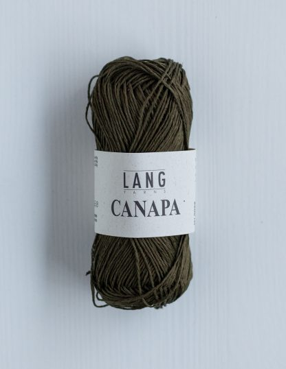 Lang Yarns Canapa - Sammaleenvihreä 98